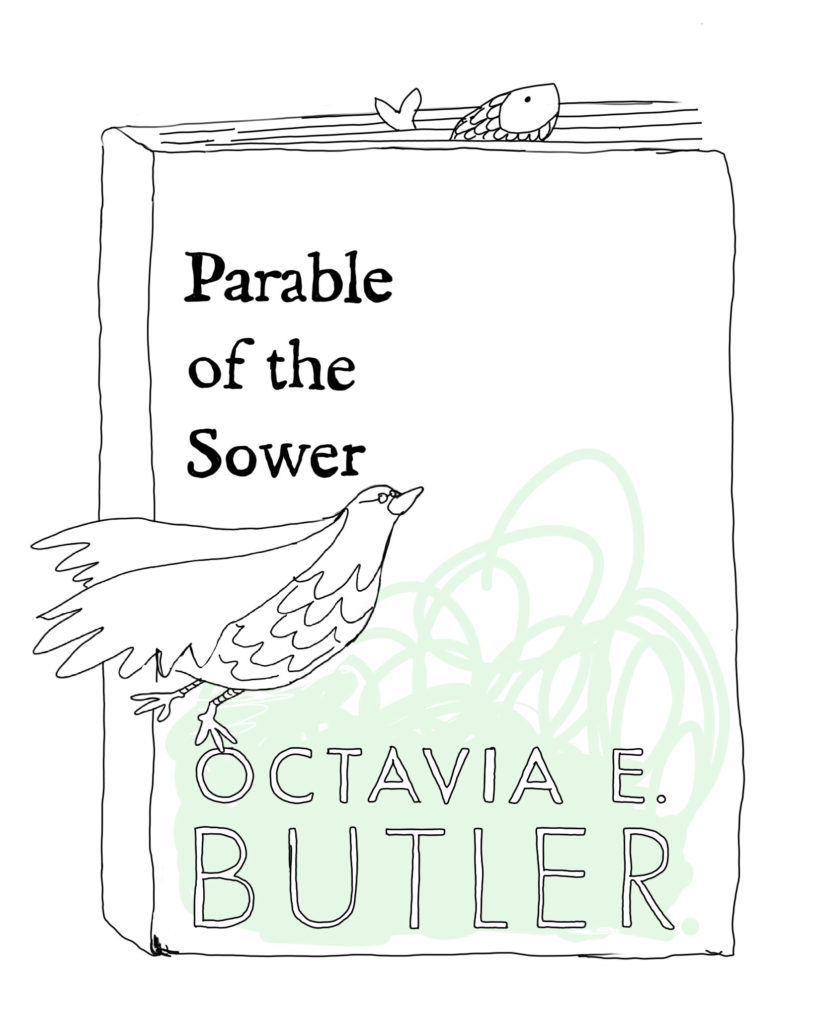 Book Cover: [3] Parable of the Sower by Octavia E. Butler